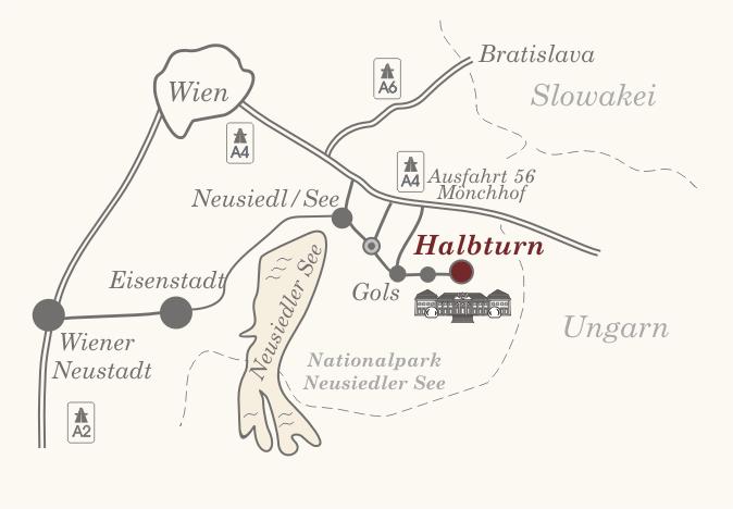Anfahrtsplan Halbturner Schlosskonzerte
