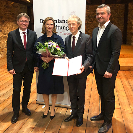 Preisverleihung Burgenlandstiftung Theodor Kery Preis 2019