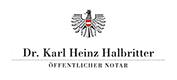 Logo Notar Halbritter