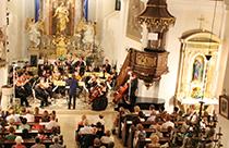 Orchesterkonzert in der Kirche Halbturn