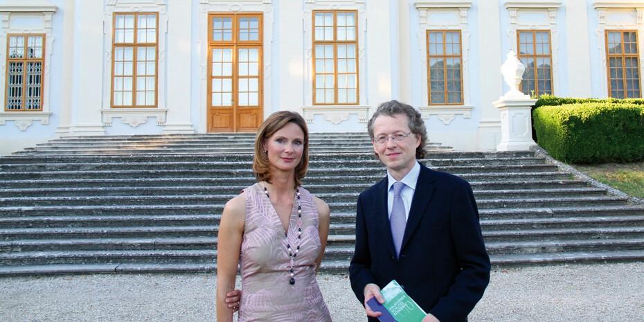 Gräfin Königsegg und Robert Lehrbaumer