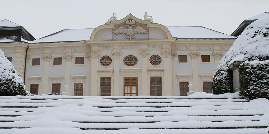 Schloss Halbturn im Winter