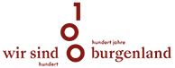 Logo 100 Jahre Burgenland