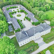 Luftaufnahme Schloss Halbturn